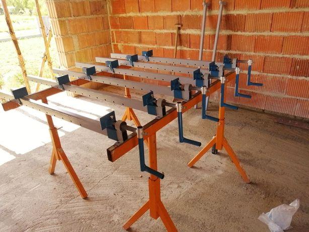 ścisk stolarski, ściski stolarskie, prasa do klejenia blatów, stołów