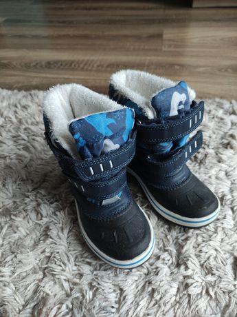 Zimowe buciki r27