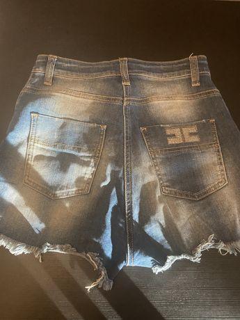 Elisabetta Franchi 26 spidenki jeansowe