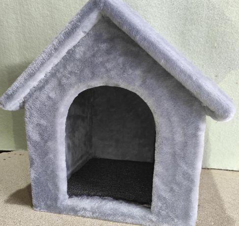 Будка лежанка из меха для собаки . Ручная работа. Nastya-619