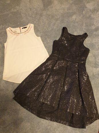 Sukienka i bluzka elegancka