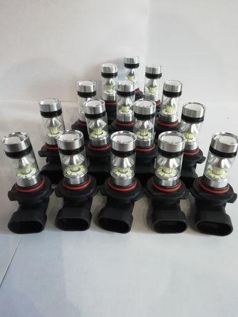 Противотуманные cветодиодные лед лампы HB3 H8 H11 НВ4. Дневные огни