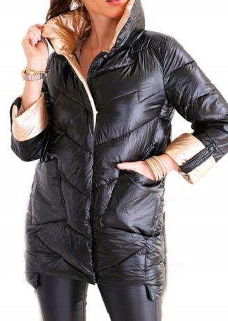 Nowa kurtka zimowa cieplutka zgrabna 42 XL