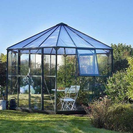 Szklarnia do ogrodu, Oranżeria, szkło hartowane 9,9m2