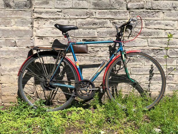 Велосипед ХВЗ старт-шоссе шоссейный турист с багажником, стартон