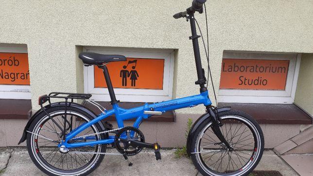 Nowy rower SKLADANY MEDANO LOKOMO 3-b NEXUS kola 20 cali