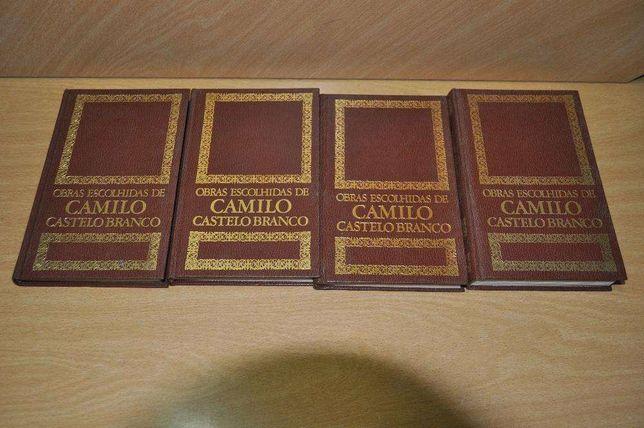 4 Volumes - Obras Escolhidas de Camilo Castelo Branco