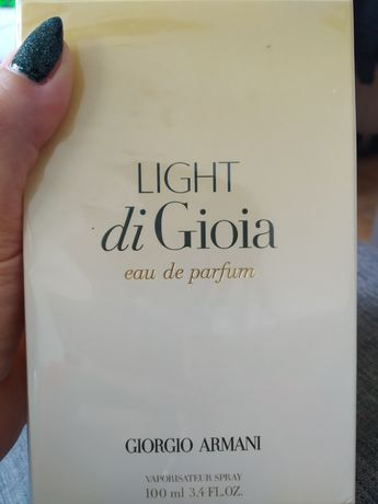 NOWE oryginalne Perfumy damskie GIORGIO ARMANI Light di Gioia 100ml