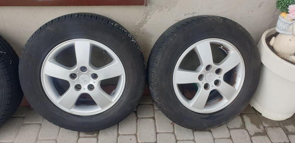 Alufelgi z oponami letnie Fulda 215/65R16 5x114,3x67 Hyundai