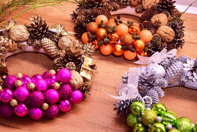 Stroiki świąteczne,wianki Boże Narodzenie , ozdoby świąteczne