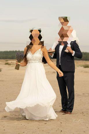 Piękna suknia ślubna! Warto zobaczyć!