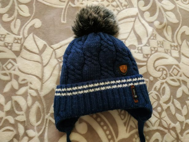 Зимняя шапка для малыша
