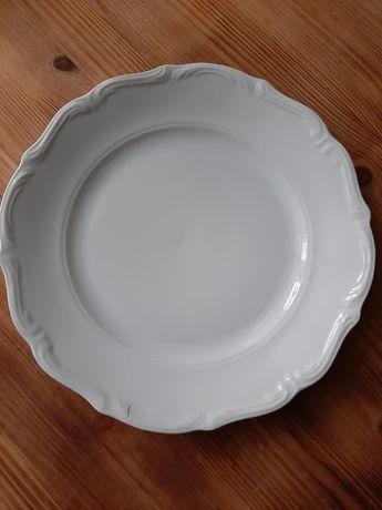 Biały talerz Wałbrzych 1szt
