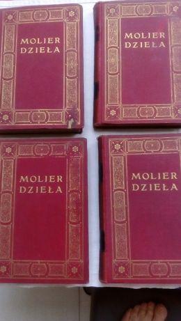 Molier Dzieła cztery tomy wyd. z 1912r.