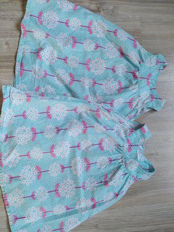 Sukienki hm 86 dla bliźniaczek, bliźniaczki