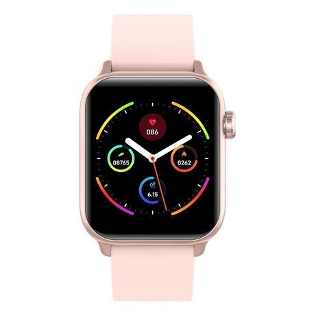 Smartwatch Rubicon RNCE56 róż czarny sport kroki sen zegarek PROMOCJA