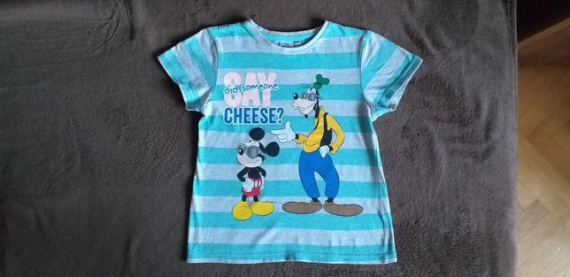 Bluzka, koszulka Disney rozmiar 128.