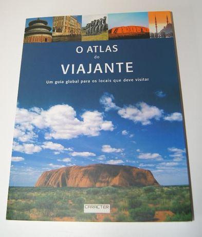 """Livro """"O atlas do viajante"""" NOVO"""