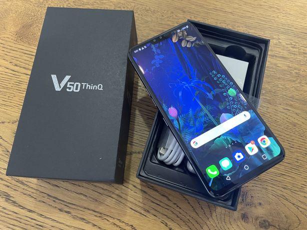Новий LG v50 чорний ( snapdragon 855 ) 2K 6/128GB 5g Гарантія !!!