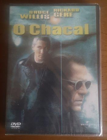 """DVD novo/selado """"O Chacal"""""""