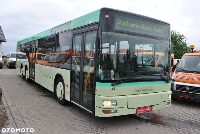Man Autobus  2 Osie Skrętne Automatyczna Skrzynia Pneumatyczne