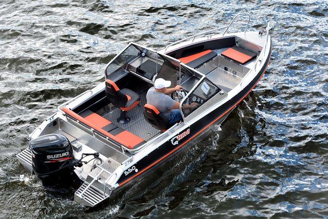 Лодка Ums Tuna Тюна 585DC AL Двойная консоль