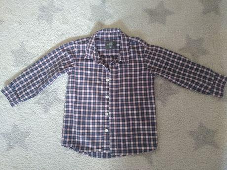 Koszula hm chlopieca rozmiar 92