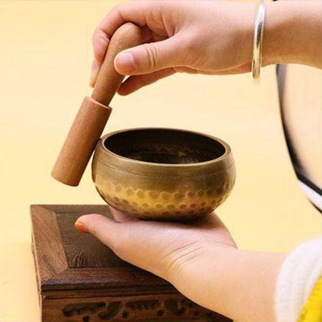 Taça Tibetana em Cobre 9,5 cm - Budismo Meditação Yoga Chakras