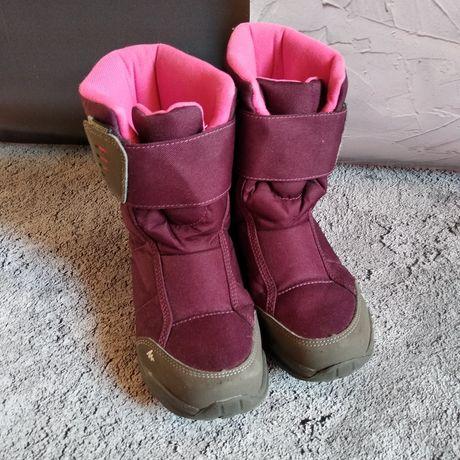 Waterproof ботинки. Водонепроникні термо чоботи для дівчинки