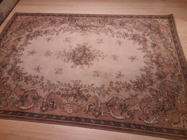 Wełniany dywan wzór klasyczny 160 x 240