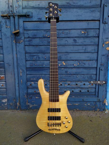 Bass Warwick Streamer Stage I 5 strun broadneck gitara basowa basówka