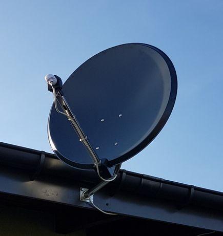 Montaż Anten Kamer Satelit Monitoring DVB-T Ustawianie Serwis Ustawien