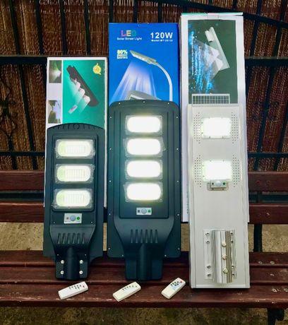 Lampa Ogrodowa Parkowa LED Solarna 90W ,100W ,120W Sterowanie Pilotem