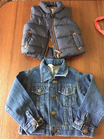 Жилетка курточка вік 3-6 м
