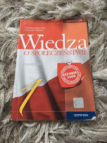 Wiedza o społeczeństwie podrecznik Elżbieta dobrzycka Krzysztof makara