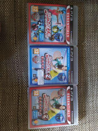 Zestaw gier na PS3 ruchowych