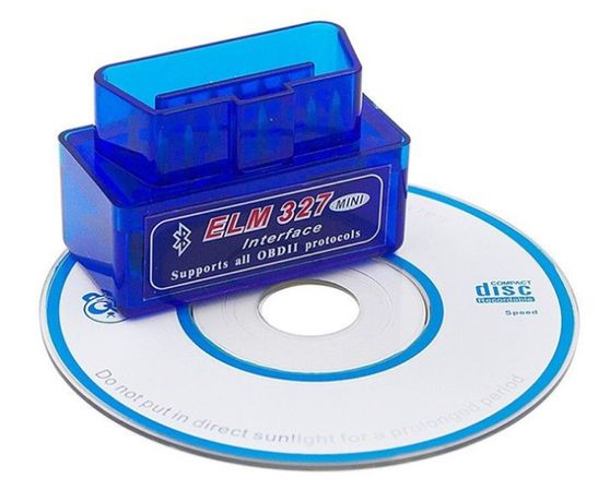 Авто сканер-адаптер ELM327 1.5 PIC 25K80 Bluetooth OBD2 lanos sens лиф