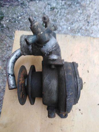 Помпа МАЗ, ямз 238, водяной насос со шкивом