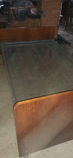 Панцирная двухспальная кровать сетка