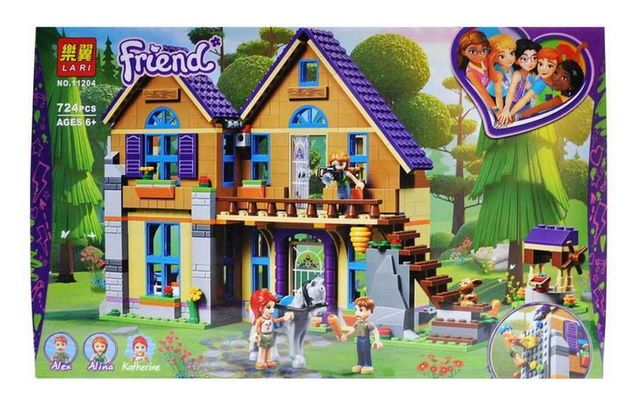 "( Lego Friends 41369) Конструктор ""Friends - Дом Мии"" Lari 11204"