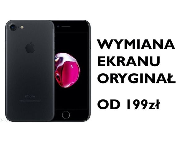 100% Oryginalny Wyświetlacz Dotyk LCD Wymiana Szybki iPhone SE 6 7 8 X