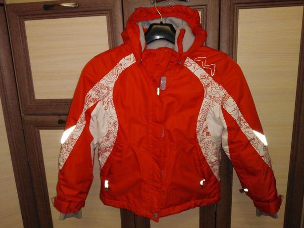 Теплая зимняя куртка Marc Girardelli рост 128 в отличном состоянии
