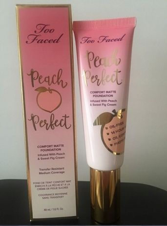 Too Faced Peach Perfect Vanilia- podkład