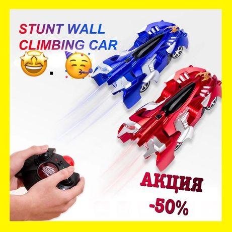 -50% Антигравитационная машинка, ездящая по стенам Wall Climber машина