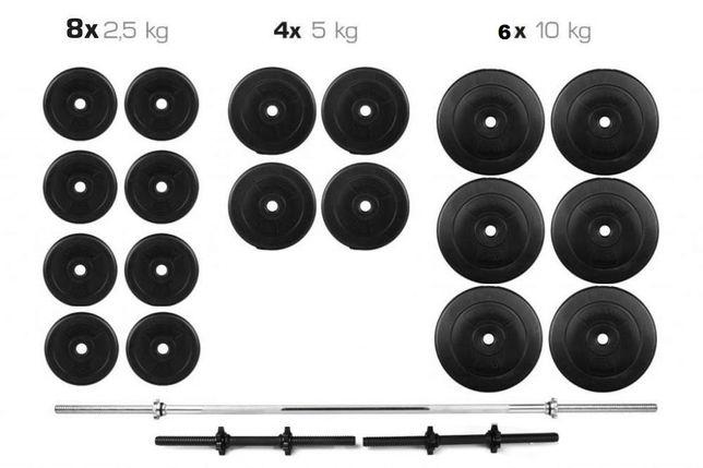 Штанга + Гантели Набор 110 кг