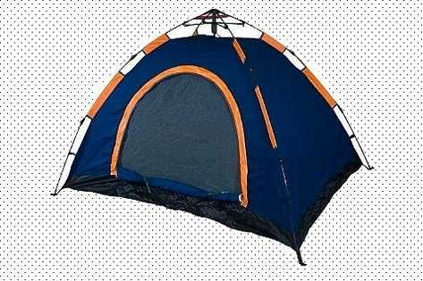 Лёгкая автоматическая палатка трёхместная d&t Best антимоскитная сетка