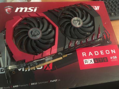 Radeon RX 470 GAMING X 4G | MSI с родной коробкой