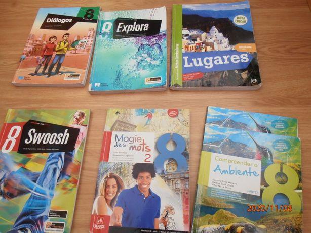 Livros escolares 8º Ano Usados
