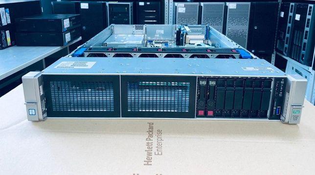 Сервер HP Proliant DL380 Gen9 2x 16 Core E5-2698v3 128Gb