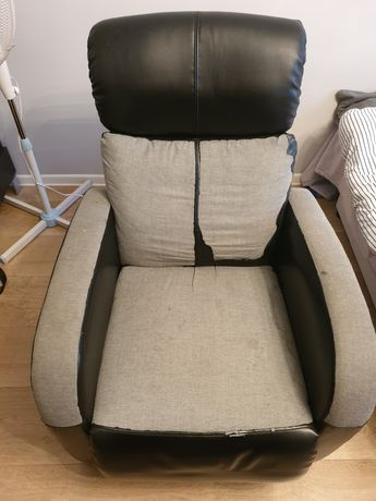 Fotel relax z masażem